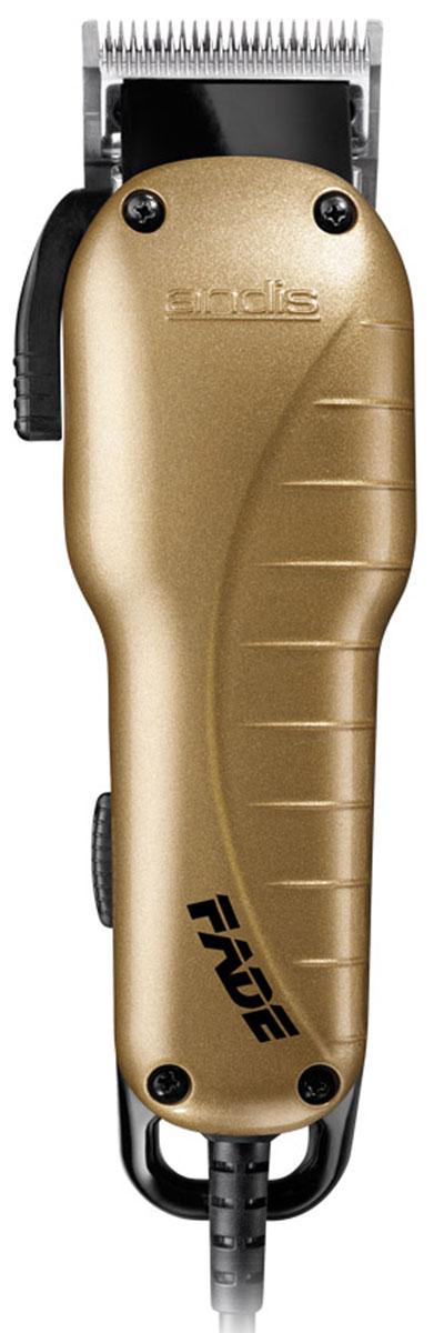 Andis Fade машинка для стрижки волос66375 US-1Триммер Andis Fade оснащен бритвенной головкой из нержавеющей стали. Плавная регулировка длины стрижки осуществляется при помощи шести насадок 3, 6, 10, 13, 19, 25 мм, идущих в комплекте с устройством. Прибор имеет современный и эргономичный дизайн. Красивую и модную прическу теперь можно сделать не только в парикмахерской, но и дома.