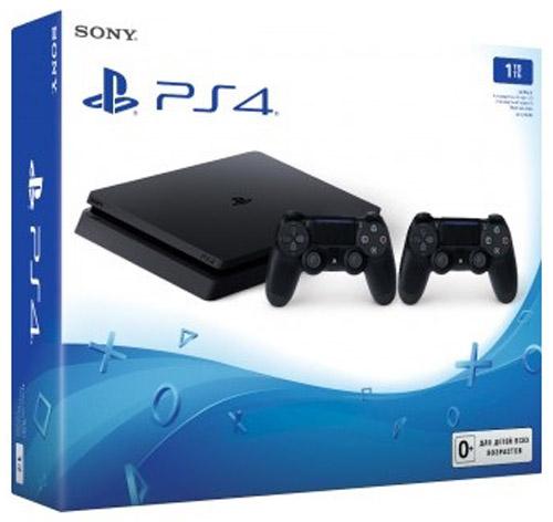 Игровая приставка Sony PlayStation 4 Slim (1 TB), Black + дополнительный контроллер Dualshock 41CSC20002653Внутренняя архитектура для новой версии PS4 была полностью пересмотрена, в результате чего объем консоли уменьшился более чем на 30%, а вес - на 25% и 16%. Также новая версия PS4 более энергоэффективна, так как потребление энергии было снижено на 34% и 28% в сравнении с предыдущими моделями консоли. Новая версия PS4 унаследовала скошенный дизайн предыдущих версий. Фронтальная и тыльная части корпуса расположены под углом. Вершины корпуса срезаны и закруглены, создавая более легкий дизайн, импонирующий большинству аудитории. Новый простой дизайн с глянцевым логотипом PS в центре верхней грани консоли будет прекрасно смотреться вне зависимости от того, как вы разместите корпус. Заглядывая в будущее технологий визуализации, все консоли PS4, включая данную модель, будут поддерживать HDR (High Dynamic Range), что позволит воспроизводить светлые и темные сцены с помощью гораздо большего количества цветов. Владельцы телевизоров, поддерживающих HDR, смогут...