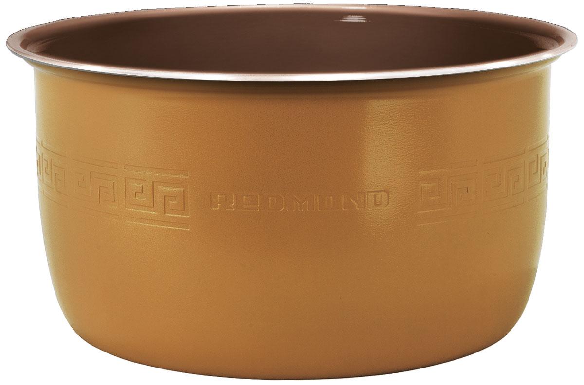 Redmond RB-C505F чаша для мультиваркиRB-C505FЧаша Redmond RB-C505F с керамическим покрытием c функцией MasterFry – уникальная высокотехнологичная новинка среди незаменимых и надёжных кухонных аксессуаров, главное отличие которой заключается в сверхпрактичном и максимально устойчивом к механическим воздействиям материале чаши – керамике Ceralon (Швейцария). Чаша RB-C505F имеет вместительный объём 5 литров и полезную мерную шкалу внутри. Экологичная ёмкость применима для таких моделей мультиварок с функцией подъёмного нагревательного элемента (ТЭНа), как: FM4502, FM4520, FM4521, FM91, FM230, CBF390S. Redmond RB-C505F позволяет с комфортом жарить, варить и тушить любые изысканные блюда с минимальным количеством масла, которые сохраняют свои непревзойдённые вкусовые и полезные качества. Особое покрытие исключает возможность пригорания и гарантирует равномерное, идеальное приготовление еды. Ёмкость можно также успешно использовать для воплощения кулинарных идей в духовом шкафу и хранения...