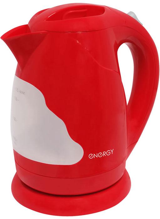 Energy E-205, Red электрический чайник54 153135Электрический чайник Energy E-205 прост в управлении и долговечен в использовании. Изготовлен из высококачественных материалов. Прозрачное окошко позволяет определить уровень воды. Мощность 2200 Вт позволит вскипятить 1,7 литра воды в считанные минуты. Беспроводное соединение позволяет вращать чайник на подставке на 360°. Для обеспечения безопасности при повседневном использовании предусмотрены функция автовыключения, а также защита от включения при отсутствии воды.