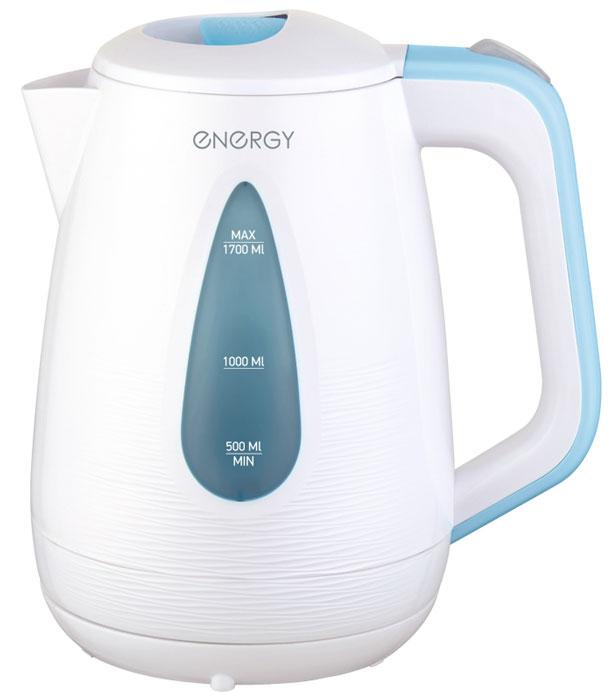 Energy E-214, White Blue электрический чайник