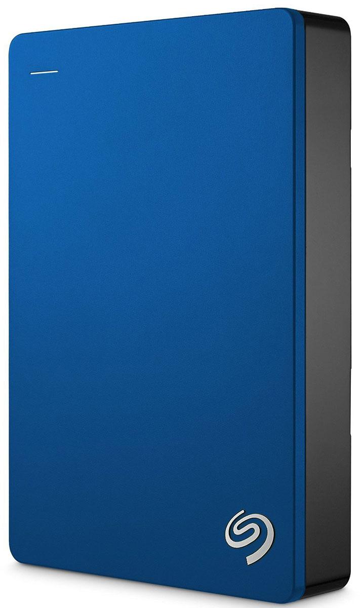 Seagate Backup Plus Portable 5TB USB 3.0, Blue внешний жесткий диск (STDR5000202)STDR5000202Внешний жесткий диск сочетает в себе мобильность переносного устройства и высокую емкость жесткого диска для настольных ПК. На этом диске с обтекаемым металлическим корпусом можно хранить до 5ТБ данных - вдвое больше, чем на 2.5-дюймовых портативных дисках. Ваши фильмы, музыка и фотографии всегда будут с вами - где бы вы ни находились. Поддержка интерфейса USB 3.0 для высокоскоростной передачи данных позволяет мгновенно подключиться к настольному ПК без дополнительного блока питания. Установите предварительно загруженный драйвер NTFS для Маc и используйте этот диск сразу в двух ОС - Windows и Маc - без переформатирования. Программное обеспечение Seagate Dashboard позволяет сохранять резервные копии данных с локальных компьютеров, мобильных устройств, облачных хранилищ и социальных сетей. Создать резервную копию и защитить файлы - проще простого. Достаточно лишь нажать на кнопку. Портативный диск Backup Plus также поддерживает автоматическое...