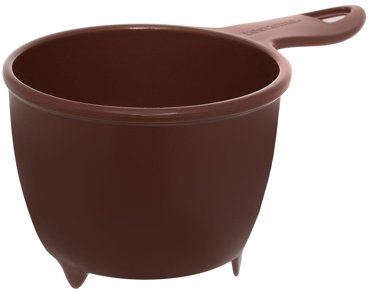 Ситечко Tescoma Presto, для кофейной гущи, диаметр 9 см420614Ситечко Tescoma Presto, выполненное из пластика, станет незаменимым аксессуаром на вашей кухне. Предназначено для процеживания кофейной гущи. Осадок не забивает сливную трубу раковины. Удобная ручка не позволит выскользнуть изделию из вашей руки, она оснащена отверстием, с помощью которого изделие можно подвесить в удобном для вас месте. Такое ситечко станет достойным дополнением к кухонному инвентарю. Диаметр ситечка по верхнему краю: 9 см. Глубина ситечка: 6 см. Длина ручки: 6,5 см.