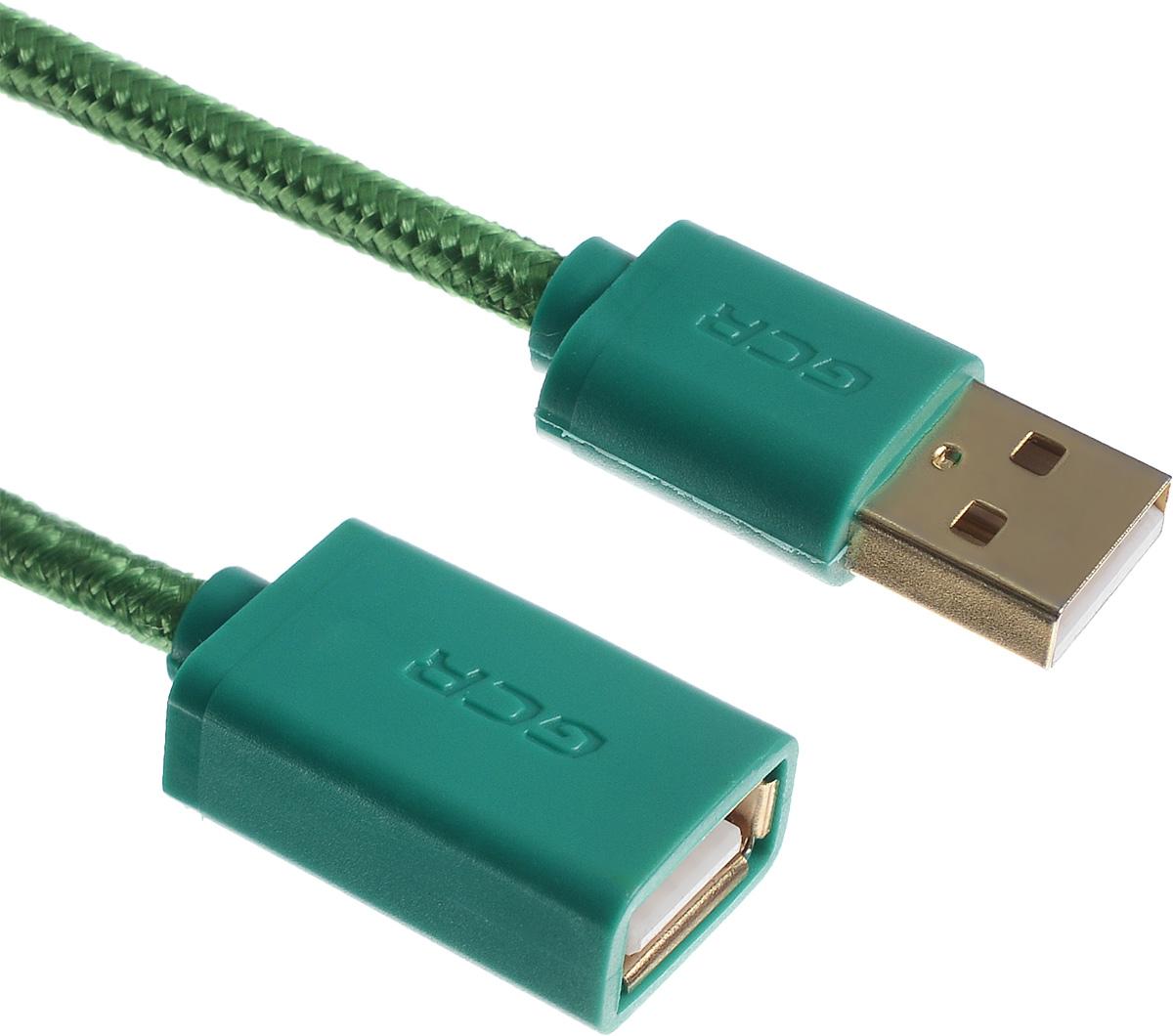 Greenconnect Russia GCR-UEC8M5-BB2SG, Green удлинитель USB 2.0 (1,8 м)GCR-UEC8M5-BB2SG-1.8mКабель-удлинитель USB 2.0 Greenconnect Russia GCR-UEC8M5-BB2SG позволит увеличить расстояние до подключаемого устройства. Может быть использован с различными USB девайсами. Экранирование кабеля защищает сигнал при передаче от влияния внешних полей, способных создать помехи.
