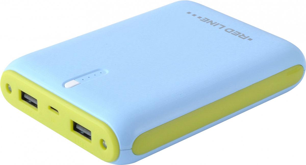 Red Line V10 внешний аккумулятор (8000 мАч)УТ000009570Универсальный внешний аккумулятор Red Line V10 предназначен для зарядки различных мобильных устройств. Благодаря компактным размерам и малому весу вы всегда можете держать внешний аккумулятор при себе и оперативно заряжать ваше мобильное устройство.