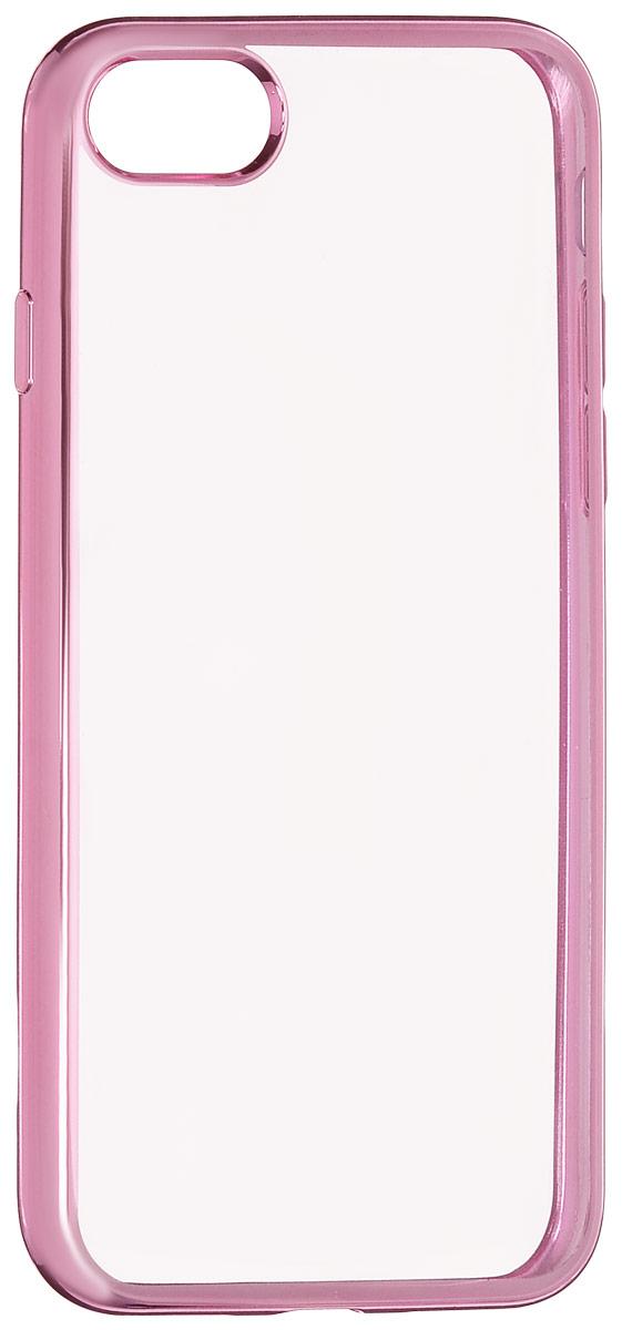 Red Line iBox Blaze чехол для iPhone 7, PinkУТ000009717Практичный и тонкий силиконовый чехол Red Line iBox Blaze для iPhone 7 с эффектом металлических граней защищает телефон от царапин, ударов и других повреждений. Чехол изготовлен из высококачественного материала, плотно облегает смартфон и имеет все необходимые технологические отверстия, соответствующие модели телефона. Силиконовый чехол Red Line iBox Blaze долгое время сохраняет свою первоначальную форму и не растягивается на смартфоне.