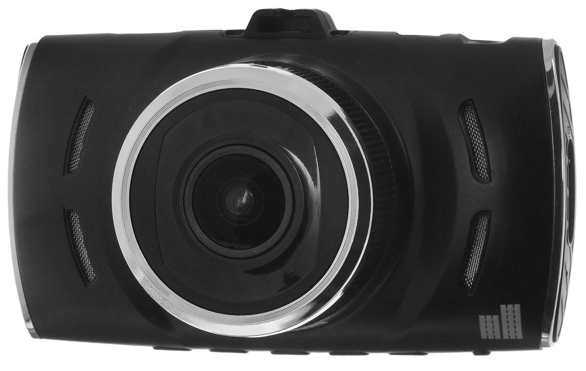 ParkCity DVR HD 475, Black видеорегистраторDVR HD 475Видеорегистратор ParkCity DVR HD 475 удобен и прост в эксплуатации, его монтаж в автомобиле также не представляет проблем. Оснащен 3 экраном, на котором можно с легкостью просмотреть видеозапись. Устройство позволяет получить картинку высочайшего качества благодаря использованию матрицы 1/3 КМОП. Разрешение съемки составляет 1920х1080 точек. В объективе используются 6 стеклянных линз, фокусное расстояние составляет 2.5 миллиметра. Угол обзора 170° позволяет охватить соседние полосы, номера движущихся рядом с вами автомобилей, а также сигналы светофора. Такой угол обзора фиксирует дорожного движения шириной в несколько полос. В кадре будут зафиксированы движущиеся рядом и впереди автомобили, дорожные знаки и сигналы светофора. В комплекте с видеорегистратор ParkCity DVR HD 475 идет дополнительная камера, которую можно установить как внутри автомобиля, так и снаружи. Камера оснащена кабелем длиной 5,8 метров. В вспомогательной...