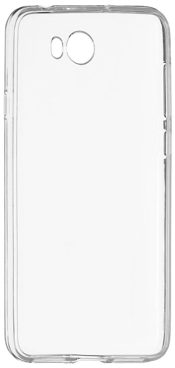 Red Line iBox Crystal чехол для Huawei Y5II, ClearУТ000009335Практичный и тонкий силиконовый чехол Red Line iBox Crystal для Huawei Y5II защищает телефон от царапин, ударов и других повреждений. Чехол изготовлен из высококачественного материала, плотно облегает смартфон и имеет все необходимые технологические отверстия, соответствующие модели телефона. Силиконовый чехол iBox Crystal долгое время сохраняет свою первоначальную форму и не растягивается на смартфоне.