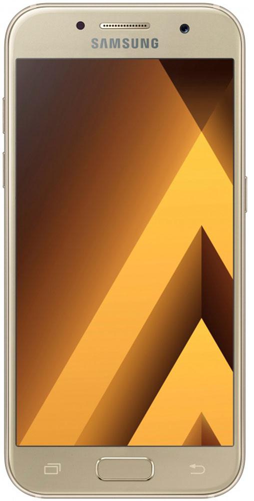 Samsung SM-A520F Galaxy A5 (2017), GoldSM-A520FZDDSERСовременный минималистичный корпус из 3D-стекла и металла, а также 5,2-дюймовый экран FHD sAMOLED - все это отличительные черты Galaxy A5 (2017). Плавные линии корпуса, отсутствие выступов камеры, утонченная и элегантная отделка позволяют получить настоящее удовольствие от использования смартфона. Будьте законодателями трендов, а не просто следуйте им. Стильные цветовые решения идеально гармонируют с корпусом из стекла и металла, создавая динамичный и цельный образ. Четыре модных цвета на выбор превосходно дополнят ваш стиль. Благодаря высокому разрешению основной камеры в 16 Mп фотографии всегда будут яркими и красочными. Вместе с Galaxy A5 (2017) почувствуйте себя профессиональным фотографом. Наличие широкого выбора фильтров позволяет подойти к процессу съемки более креативно. Теперь каждая фотография будет особенной. Где бы вы ни находились - на вечерней прогулке или в ночном клубе - ваши фотографии будут идеальными. Камера...