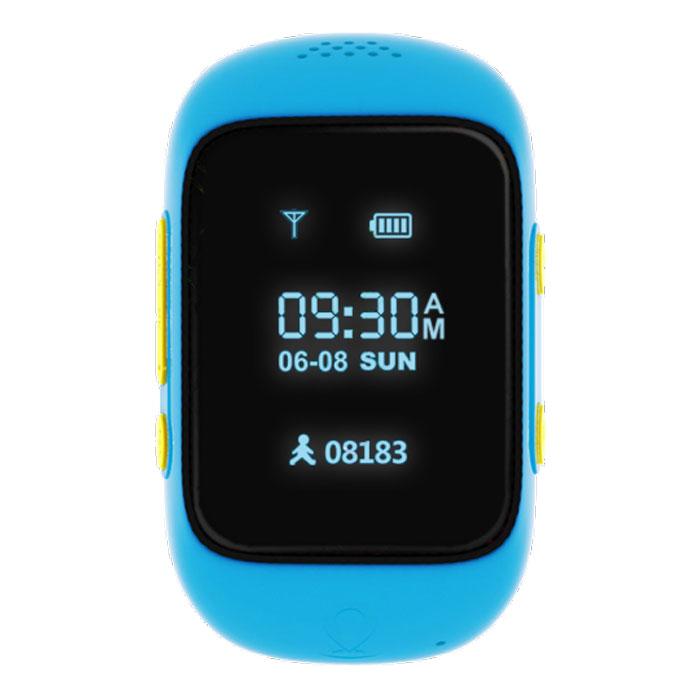 MyRope R12, Blue умные часы с GPS-трекеромR12-BLUEMyRope R12 — это умные детские часы, которые позволят родителям всегда оставаться на связи со своим чадом. Точный датчик GPS и возможность установки сим-карты дают возможность в реальном времени узнавать о передвижениях ребенка, а также связаться с ним в случае необходимости. Часы доступных в двух ярких цветовых вариантах – голубом и розовом. На лицевой стороне расположены экран, динамик и небольшое отверстие для микрофона. Слева можно обнаружить слот под микро сим-карту, а также кнопку включения/SOS, справа – функциональная кнопка приема вызова и кнопка голосового чата. MyRope R12 созданы для того, чтобы вы всегда оставались на связи с ребенком. Вы можете совершить вызов или отправить голосовое сообщение на часы (совершать звонки могут только те номера, что внесены в список контактов часов). К тому же один из родителей может воспользоваться функций скрытого одностороннего звонка, чтобы услышать, что происходит поблизости ребенка. Будьте...