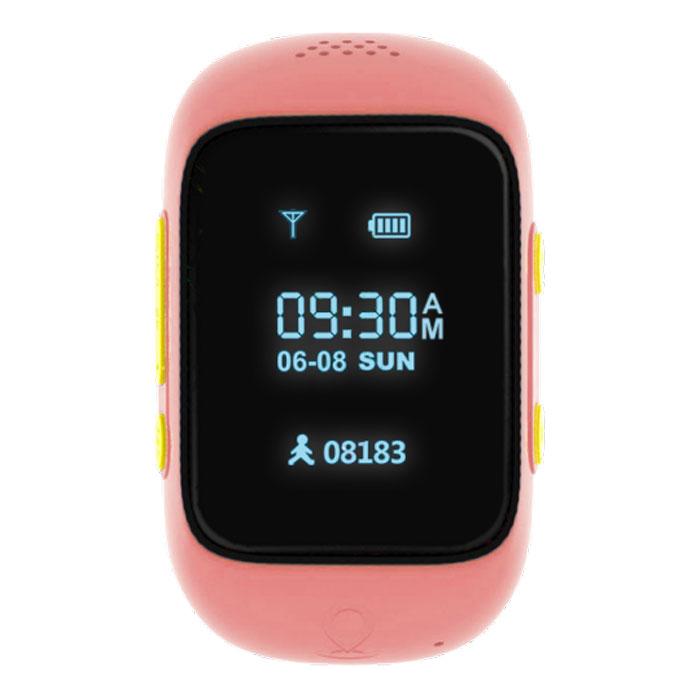 MyRope R12, Rose умные часы с GPS-трекеромR12-PINKMyRope R12 - это умные детские часы, которые позволят родителям всегда оставаться на связи со своим чадом. Точный датчик GPS и возможность установки сим-карты дают возможность в реальном времени узнавать о передвижениях ребенка, а также связаться с ним в случае необходимости. Часы доступных в двух ярких цветовых вариантах - голубом и розовом. На лицевой стороне расположены экран, динамик и небольшое отверстие для микрофона. Слева можно обнаружить слот под микро сим-карту, а также кнопку включения/SOS, справа - функциональная кнопка приема вызова и кнопка голосового чата. MyRope R12 созданы для того, чтобы вы всегда оставались на связи с ребенком. Вы можете совершить вызов или отправить голосовое сообщение на часы (совершать звонки могут только те номера, что внесены в список контактов часов). К тому же один из родителей может воспользоваться функций скрытого одностороннего звонка, чтобы услышать, что происходит поблизости ребенка. Будьте...