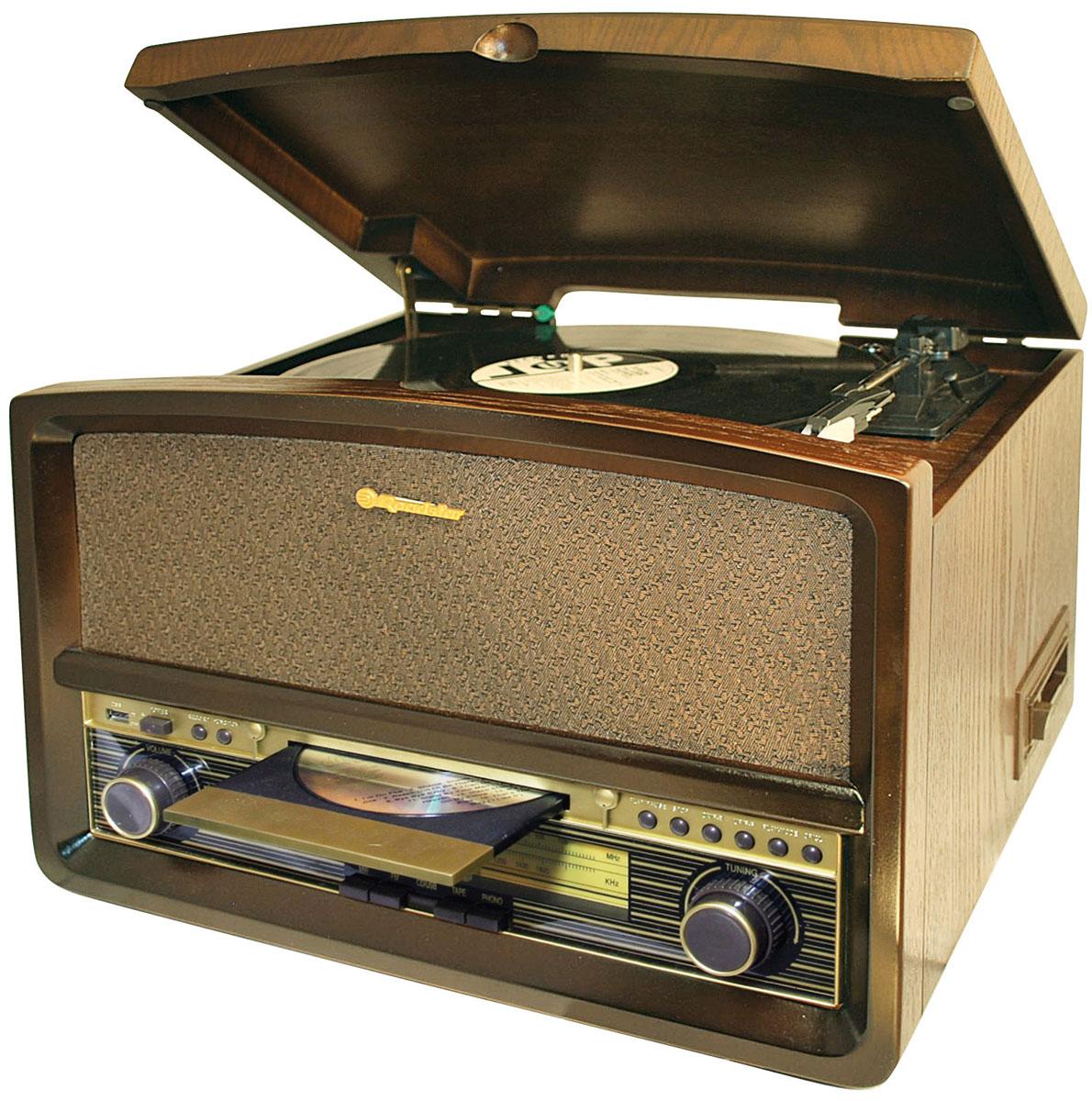 RoadStar HIF-1937TUMPK проигрыватель виниловых дисков