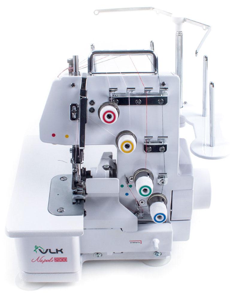VLK Napoli 2900 оверлокVLK Napoli 2900Оверлок VLK Napoli 2900 выполнен в цельнометаллическом корпусе, что придает особую устойчивость конструкции и соответственно, позволяет обрабатывать ткани на большой скорости и в большом объеме. Что касается скорости шитья, она составляет 1200 стежков в минуту и является максимально высокой для оверлока. Однако скорость шитья регулируется упорным винтом на педали, поэтому шитье на оверлоке VLK Napoli 2900 доступно даже начинающей портнихе. Одновременно с обмётыванием оверлок обрезает излишки ткани с помощью высококачественного стального ножа. Оверлок VLK Napoli 2900 одновременно выполнит строчку, аккуратно обрежет край изделия и красиво его обметает. Кроме того, регулятор прижима ткани позволит настроить машину даже для обработки особо эластичных тканей. Оверлок позволяет выполнить 12 видов шва. Полный комплект аксессуаров (иглы, пружины, винты, игольная пластина) и запасных частей (запасные ножи, отвёртки, масленка) сделают...