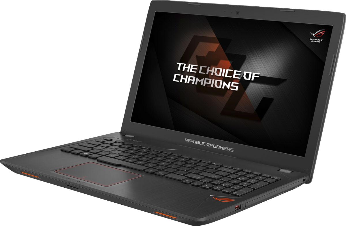 ASUS ROG GL553VD (GL553VD-FY073T)GL553VD-FY073TНоутбук Asus ROG GL553VD - это новейший процессор Intel и геймерская видеокарта NVIDIA GeForce GTX в компактном и легком корпусе. С этим мобильным компьютером вы сможете играть в любимые игры где угодно. В аппаратную конфигурацию ноутбука входит процессор Intel Core i5 седьмого поколения и дискретная видеокарта NVIDIA GeForce GTX 1050M с поддержкой Microsoft DirectX 12. Мощные компоненты обеспечивают высокую скорость в современных играх и тяжелых приложениях, например при редактировании видео. Данная модель оснащается 15,6-дюймовым IPS-дисплеем с широкими углами обзора (178°), разрешение которого составляет 1920x1080 пикселей (Full HD). В ноутбуке реализована высокоэффективная система охлаждения центрального и графического процессоров. Продуманное охлаждение - залог стабильной работы мобильного компьютера даже во время самых жарких виртуальных сражений. Интерфейс USB 3.1, реализованный в данном ноутбуке в виде обратимого разъема...