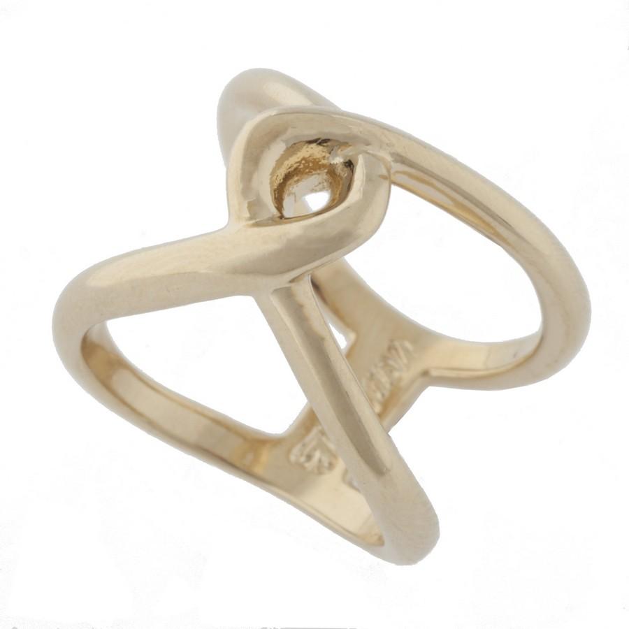 Кольцо Jenavi Этюд. Тауц, цвет: золотой. Размер 19f735p090Коллекция Этюд, Тауц (Кольцо) гипоаллергенный ювелирный сплав,Позолота, вставка без вставок, цвет - золотой, , размер - 19