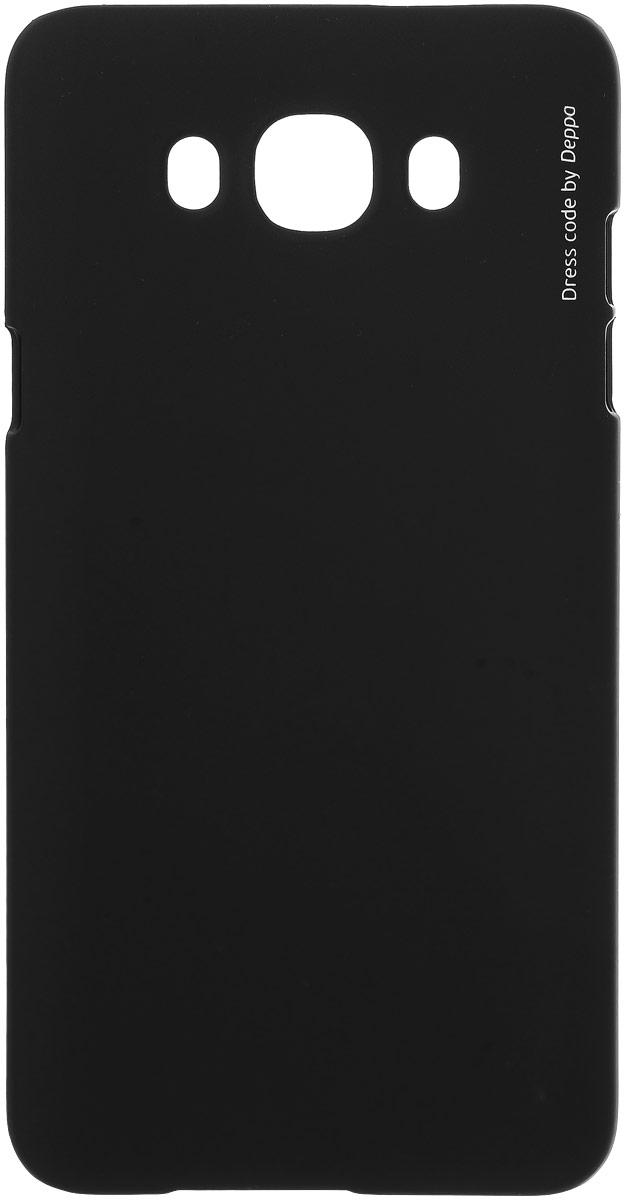 Deppa Air Case чехол для Samsung Galaxy J7 (2016), Black83253Чехол Deppa Air Case для Samsung Galaxy J7 (2016) случай редкого сочетания яркости и чувства меры. Это стильная и элегантная деталь вашего образа, которая всегда обращает на себя внимание среди множества вещей. Благодаря покрытию soft touch чехол невероятно приятен на ощупь, поэтому смартфон не хочется выпускать из рук. Ультратонкий чехол (1 мм) повторяет контуры самого девайса, при этом готов принимать на себя удары - последствия непрерывного ритма городской жизни. Чехлы Deppa Air Case изготавливаются из высококачественного поликарбоната (PC) производства Вауеr, устойчивого к сколам, ударам и царапинам. Прочная поверхность чехла с покрытием soft touch обладает противоскользящим эффектом. Все функциональные отверстия чехла идеально подогнаны по размерам и местоположению, обеспечивая полный доступ к внешним портам, слотам и разъемам гаджета.