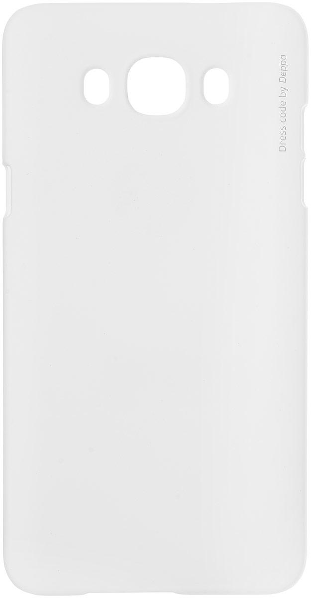Deppa Air Case чехол для Samsung Galaxy J7 (2016), White83254Чехол Deppa Air Case для Samsung Galaxy J7 (2016) случай редкого сочетания яркости и чувства меры. Это стильная и элегантная деталь вашего образа, которая всегда обращает на себя внимание среди множества вещей. Благодаря покрытию soft touch чехол невероятно приятен на ощупь, поэтому смартфон не хочется выпускать из рук. Ультратонкий чехол (1 мм) повторяет контуры самого девайса, при этом готов принимать на себя удары - последствия непрерывного ритма городской жизни. Чехлы Deppa Air Case изготавливаются из высококачественного поликарбоната (PC) производства Вауеr, устойчивого к сколам, ударам и царапинам. Прочная поверхность чехла с покрытием soft touch обладает противоскользящим эффектом. Все функциональные отверстия чехла идеально подогнаны по размерам и местоположению, обеспечивая полный доступ к внешним портам, слотам и разъемам гаджета.