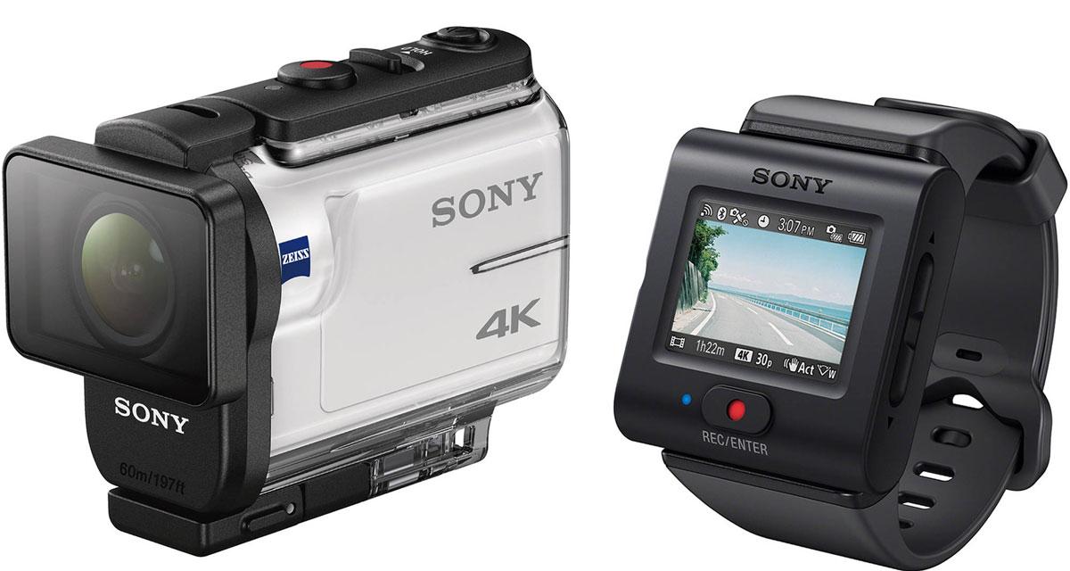 Sony FDR-X3000R 4K, White экшн-камера