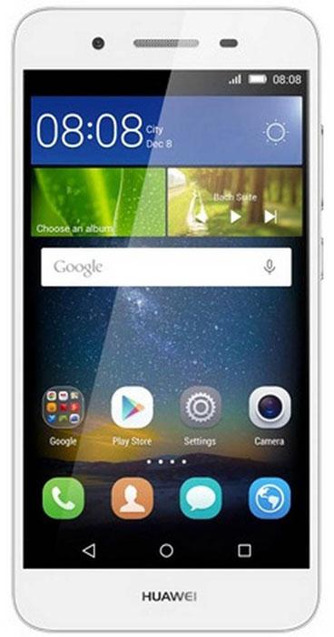 Huawei GR3 LTE (TAG-L21), Silver51090EGKHuawei GR3 - стильный и недорогой смартфон с широкими возможностями. Восьмиядерный процессор MediaTek MT6753T с частотой 1.5 ГГц позволяет использовать все современные мобильные приложения. Коммуникационные возможности представлены Bluetooth 4.0, Wi-Fi 802.11 b/g/n при помощи которых можно воспользоваться беспроводной гарнитурой или подключиться к интернету. Также Huawei GR3 не даст вам заблудится в городе и всегда укажет дорогу благодаря функции GPS. Модель оборудована стандартными разъемами - 3.5 мм для подключения наушников и microUSB - для зарядки и присоединения к USB-порту компьютера. Huawei GR3 также обладает функциональным мультимедиа-плеером, способным воспроизводить аудио и видео- файлы самых популярных форматов. Девайс обладает двумя слотами для SIM-карт, слотом для карт памяти microSD (до 128 ГБ). Смартфон оснащен двумя камерами: основной на 13 мегапикселей и фронтальной на 5 мегапикселей. Основная камера отлично...