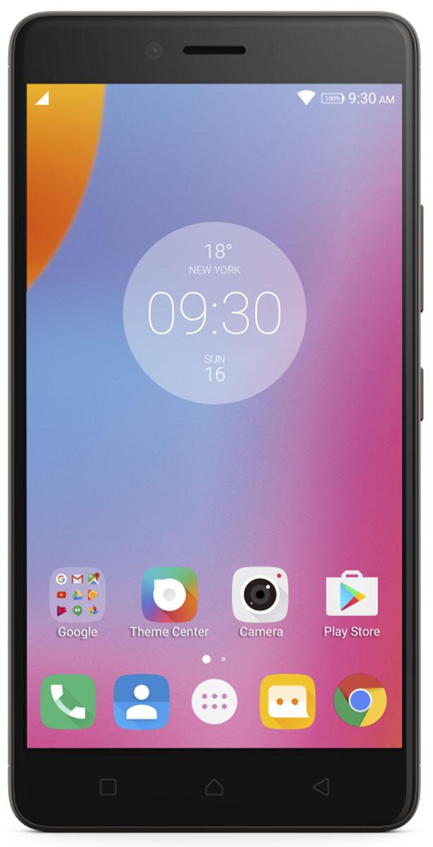 Lenovo K6 Note (K53A48), Dark GreyPA570046RUСмартфон Lenovo K6 Note прекрасен во всех отношениях. Делайте прекрасные снимки памятных моментов с помощью двух камер высокого разрешения и 5,5-дюймового FHD-дисплея с потрясающим качеством изображения. Смартфон Lenovo K6 Note в цельнометаллическом корпусе на платформе Android поддерживает аудиотехнологию Dolby Atmos и отличается наличием высокопроизводительного восьмиядерного процессора и надежного сканера отпечатков пальцев для быстрого доступа к любимым приложениям. Камеры превосходного качества, выдающиеся результаты: Со смартфоном Lenovo K6 Note потрясающие снимки станут обычным делом. Его 16-мегапиксельная задняя камера с быстрым фокусом оснащена двойной вспышкой с системой корреляции световой температуры (CCT), которая поможет предотвратить пересветы или размытость изображений. Если ваша цель - отличные селфи высокой четкости, вы несомненно оцените фронтальную камеру с разрешением 8 Мпикс. Яркий 5,5-дюймовый дисплей Full HD: ...