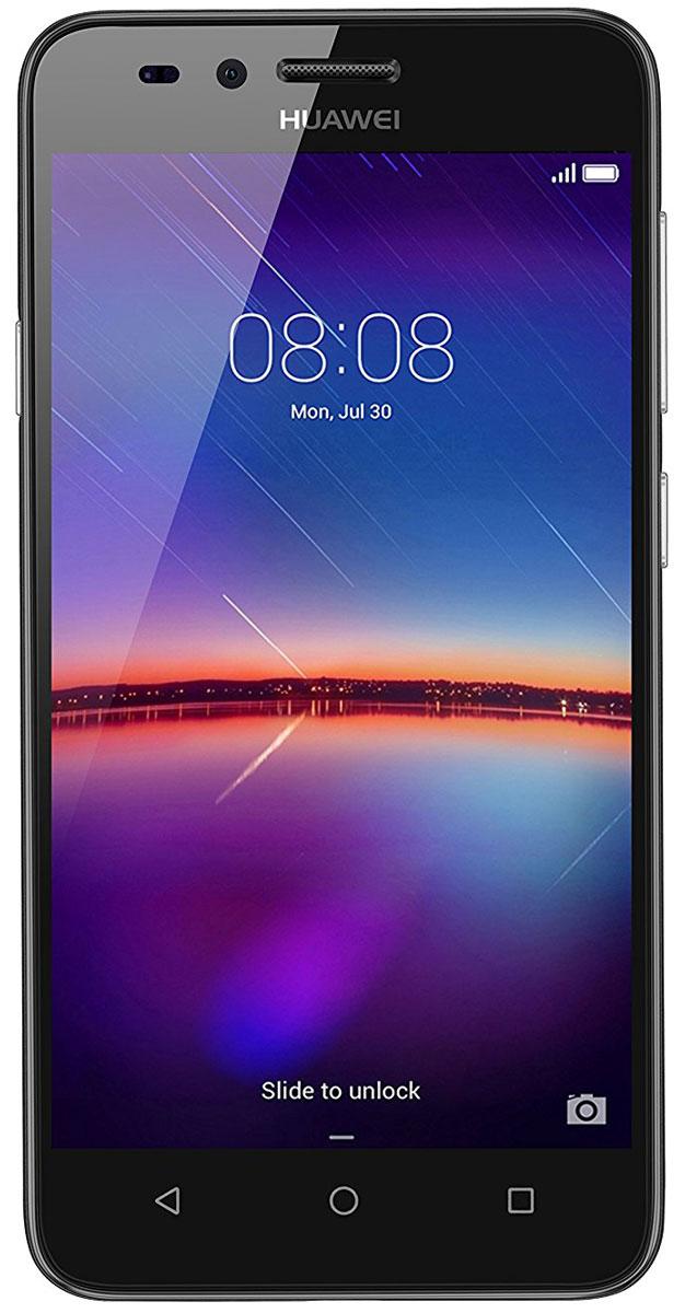Huawei Y3 II (LUA-U22), Black51050LWAHuawei Y3 II - стильный и недорогой смартфон с широкими возможностями. Черытехъядерный процессор MediaTek MT6582M с частотой 1.3 ГГц и оперативная память 1 ГБ позволяют использовать все современные мобильные приложения. Коммуникационные возможности представлены Bluetooth 4.0, Wi-Fi 802.11 b/g/n при помощи которых можно воспользоваться беспроводной гарнитурой или подключиться к интернету. Также Huawei Y3 II не даст вам заблудится в городе и всегда укажет дорогу благодаря функции GPS. Модель оборудована стандартными разъемами - 3.5 мм для подключения наушников и microUSB - для зарядки и присоединения к USB-порту компьютера. Huawei Y3 II также обладает функциональным мультимедиа-плеером, способным воспроизводить аудио и видео- файлы самых популярных форматов. Девайс обладает двумя слотами для SIM-карт, слотом для карт памяти microSD (до 32 ГБ). Смартфон оснащен двумя камерами: основной на 5 мегапикселей и фронтальной на 2...