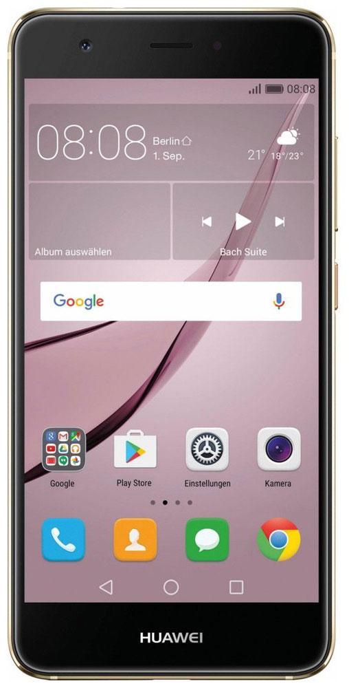 Huawei Nova LTE (CAN-L11), Gold51090XKYHuawei Nova — сочетание элегантности и современных решений. Утончённый и минималистичный дизайн. Создавая Huawei Nova, дизайнеры черпали вдохновение в природе и современной архитектуре, в тонких линиях и контурах, в игре света и тени. Изогнутые грани Huawei Nova дарят ощущение плавности и комфорта. Компактность корпуса достигается за счёт эргономичного расположения внутренних элементов. Задняя панель корпуса Huawei Nova выполнена из аэрокосмического магниево-алюминиевого сплава. Использование технологии пескоструйной обработки позволило создать приятную на ощупь текстурированную поверхность и придать корпусу глянцевый вид. Верхняя часть задней панели выполнена из контрастного глянцевого пластика. Закруглённые края и экран с технологией 2.5D позволяют смартфону идеально располагаться в руке. Основная 12 МП камера смартфона Huawei nova с размером пикселя 1,25 мкм, широкой диафрагмой F2.2 и специальным покрытием объектива, позволяет получить...