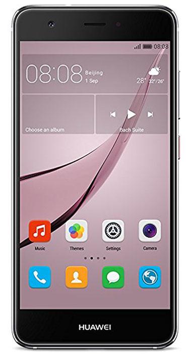 Huawei Nova LTE (CAN-L11), Grey51090XKXHuawei Nova - сочетание элегантности и современных решений. Утончённый и минималистичный дизайн. Создавая Huawei Nova, дизайнеры черпали вдохновение в природе и современной архитектуре, в тонких линиях и контурах, в игре света и тени. Изогнутые грани Huawei Nova дарят ощущение плавности и комфорта. Компактность корпуса достигается за счёт эргономичного расположения внутренних элементов. Задняя панель корпуса Huawei Nova выполнена из аэрокосмического магниево-алюминиевого сплава. Использование технологии пескоструйной обработки позволило создать приятную на ощупь текстурированную поверхность и придать корпусу глянцевый вид. Верхняя часть задней панели выполнена из контрастного глянцевого пластика. Закруглённые края и экран с технологией 2.5D позволяют смартфону идеально располагаться в руке. Основная 12 МП камера смартфона Huawei nova с размером пикселя 1,25 мкм, широкой диафрагмой F2.2 и специальным покрытием объектива, позволяет получить...