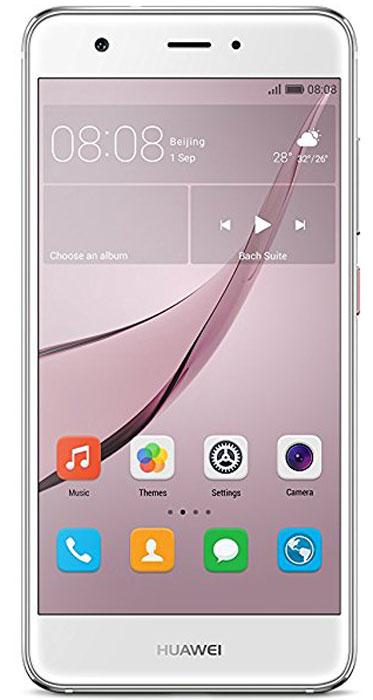 Huawei Nova LTE (CAN-L11), Silver51090XLAHuawei Nova - сочетание элегантности и современных решений. Утончённый и минималистичный дизайн. Создавая Huawei Nova, дизайнеры черпали вдохновение в природе и современной архитектуре, в тонких линиях и контурах, в игре света и тени. Изогнутые грани Huawei Nova дарят ощущение плавности и комфорта. Компактность корпуса достигается за счёт эргономичного расположения внутренних элементов. Задняя панель корпуса Huawei Nova выполнена из аэрокосмического магниево-алюминиевого сплава. Использование технологии пескоструйной обработки позволило создать приятную на ощупь текстурированную поверхность и придать корпусу глянцевый вид. Верхняя часть задней панели выполнена из контрастного глянцевого пластика. Закруглённые края и экран с технологией 2.5D позволяют смартфону идеально располагаться в руке. Основная 12 МП камера смартфона Huawei nova с размером пикселя 1,25 мкм, широкой диафрагмой F2.2 и специальным покрытием объектива, позволяет получить...