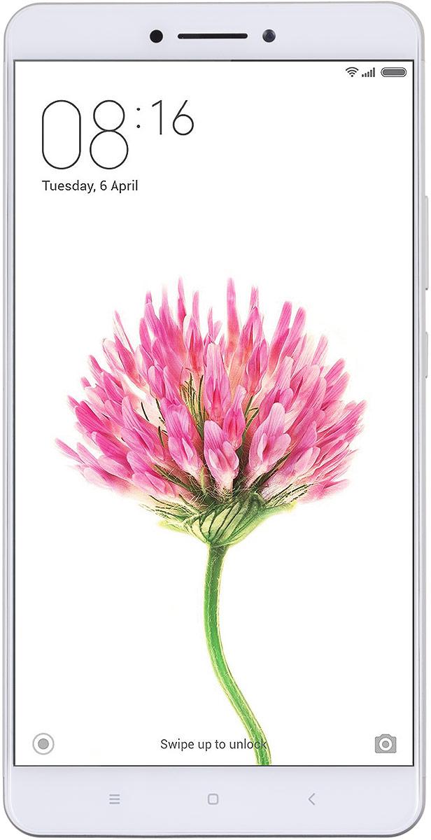 Xiaomi Mi Max (32GB), Silver (MIMAXS32GB)MIMAXS32GBXiaomi Mi Max имеет легкий металлический корпус и дисплей королевского размера 6,44 дюйма. При наличии такого большого экрана толщина смартфона Mi Max составляет всего 7,5 мм, а вес 203 грамма, что свидетельствует о том, что смартфоны с большим дисплеем тоже могут быт легкими и удобными. Спереди смартфон защищен закаленным 2.5D стеклом, которое в сочетании с металлическим корпусом добавляет смартфону приятную фактурность и стильный вид. Среди всех моделей смартфонов Xiaomi новый Mi Max оснащен самым энергоемким аккумулятором, который действительно способен удивлять своей выносливостью. Если обычные смартфоны при непрерывном просмотре видео разряжаются уже через 7-10 часов, то Mi Max демонстрирует свыше 14 часов автономной работы. За это время вы успеете просмотреть более 10 серий любимого сериала. Xiaomi Mi Max может похвастаться не только большим дисплеем, но и высокопроизводительной начинкой. Он оснащен топовым процессором Qualcomm...