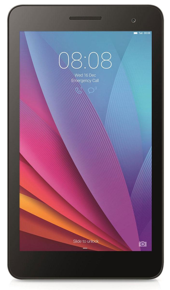 Huawei MediaPad T1 7 3G, Champagne53017625Huawei MediaPad T1 7 3G можно использовать как смартфон и как планшет. Благодаря универсальным габаритам, планшетом легко управлять одной рукой. В компактном корпусе собраны самые необходимые функции: голосовые вызовы, SMS-сообщения, проигрывание видео, игры и удобный поиск в Интернете. Корпус MediaPad T1 7 3G создан из сплава алюминия и магния, что делает его прочным и лёгким. Закругленные края обеспечивают удобство использования, а цветовое решение подчёркивает элегантность линий. Универсальный размер экрана 7 прост и удобен в использовании: благодаря тонкому корпусу 8,5 мм и весу всего 278 г его легко носить в кармане или сумке. IPS экран планшета MediaPad T1 7 3G отображает весь спектр цветов Adobe RGB и гарантирует яркое, контрастное изображение. Huawei MediaPad T1 7 3G гарантирует высокое качество связи и стабильное соединение, где бы вы ни находились. Скорость загрузки файлов до 21 Мбит/с. Операционная система Android 4.4 и...