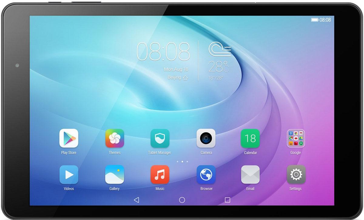 Huawei MediaPad T2 Pro 10 LTE (16GB), Black5301651610.1-дюймовый Full HD экран планшета Huawei MediaPad T2 10.0 Pro – это яркое и четкое изображение во время просмотра видео, игр и повседневных задач. Режим ухода за глазами подстраивается под внешнее освещение и не дает глазам устать. Планшет MediaPad T2 10.0 Pro предоставляет высокую скорость и производительность при выполнении задач любой сложности. 64-битный 8-ядерный чипсет Qualcomm Snapdragon, 4G-LTE интернет (до 150 Мбит/с) и Wi-Fi (до 433 Мбит/с) создают быстрое и стабильное соединение, позволяя пользователям дольше оставаться на связи. Два динамика с запатентованной акустической системой Huawei - SWS 2.0, предлагают насладиться кристально- чистым звуком при прослушивании любимой музыкой Аккумулятор планшета Huawei MediaPad T2 10.0 Pro имеет емкость 6660 мАч, предоставляя пользователям до 700 часов работы в режиме ожидания. Вы можете не беспокоиться о заряде батареи во время веб-серфинга, просмотра видео и прослушивании музыки. ...