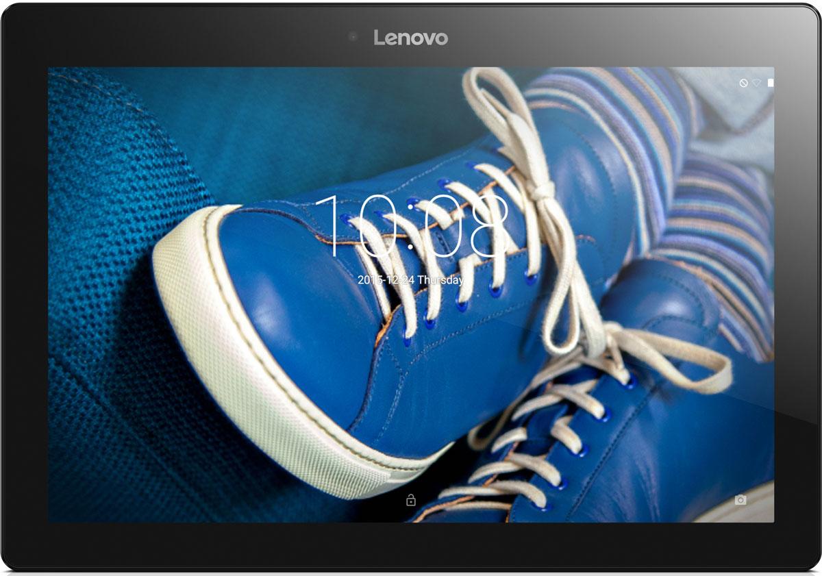 Lenovo Tab 2 A10-30 (TB2-X30F), Blue (ZA0C0123RU)ZA0C0123RU10,1-дюймовый портативный планшет Lenovo Tab 2 A10-30, созданный для развлечений. HD-дисплей высокого разрешения (1280 х 800) обеспечивает потрясающее качество видео, фотографий и игр. Ультратонкий корпус (менее 9 мм) придает планшету TAB 2 A10-30 непревзойденную портативность. Двойные динамики обеспечивают высокое качество звучания. Планшет TAB 2 A10-30 превосходно подходит для прослушивания музыки и просмотра видео. Черытехъядерный процессор Qualcomm с частотой 1.3 ГГц и оперативная память 2 ГБ позволяют использовать все современные мобильные приложения. Встроенный накопитель емкостью 16 ГБ обеспечит достаточно места для хранения ваших медиафайлов. Благодаря пятимегапиксельной задней камере и двухмегапиксельной фронтальной камере вы сможете насладиться отличным качеством изображения, общаясь в видеочатах с семьей и друзьями. Планшет сертифицирован EAC и имеет русифицированный интерфейс, меню и Руководство...
