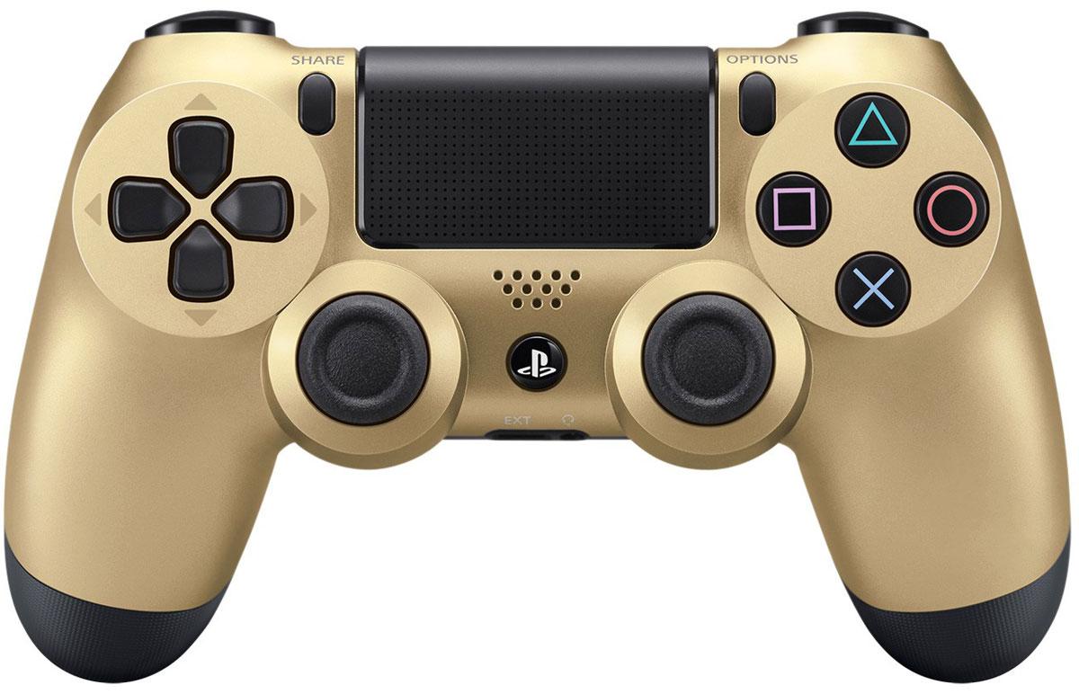 Sony DualShock 4 Cont, Gold геймпад для PS4