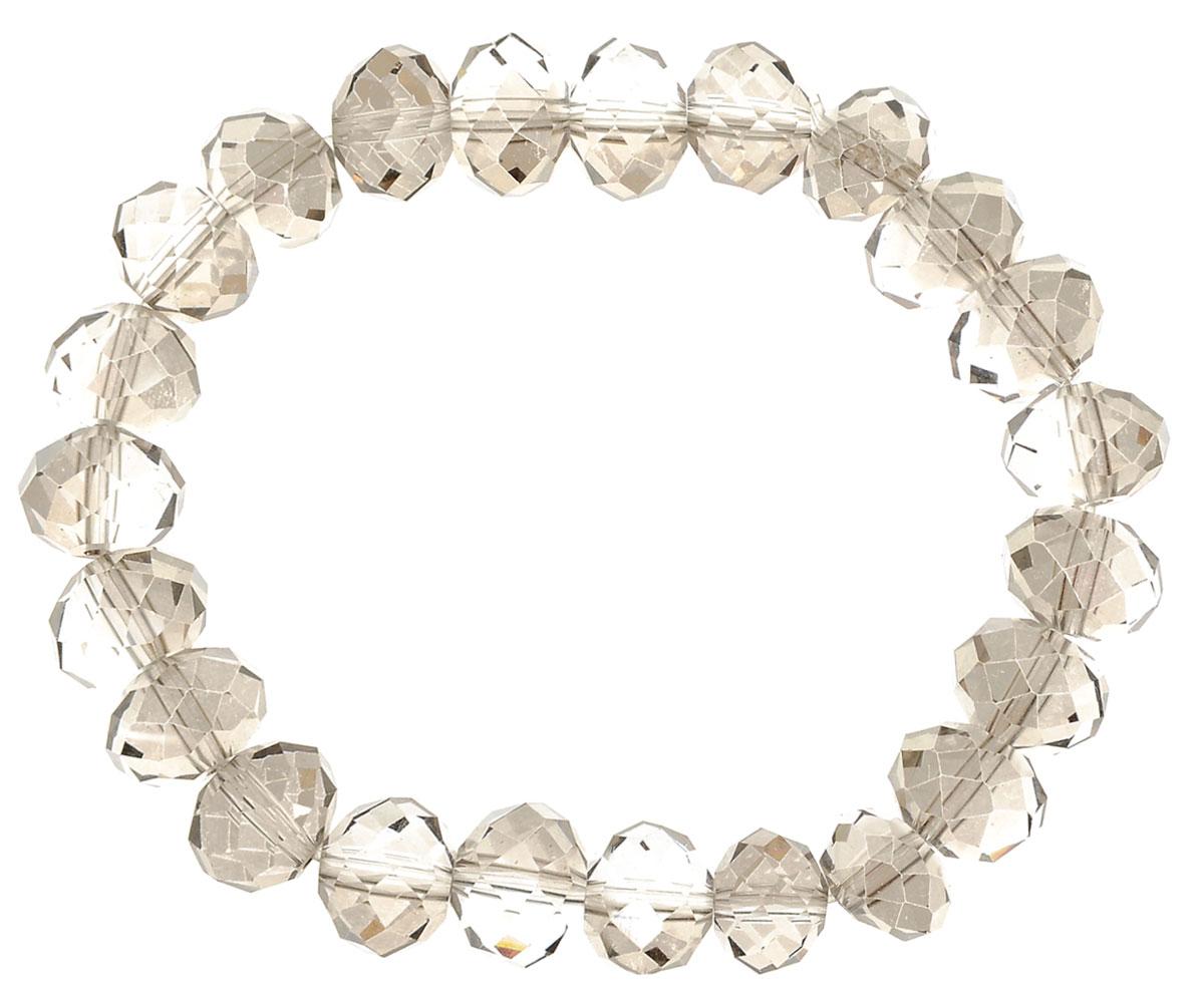 Браслет Taya, цвет: хематит. T-B-11788-BRAC-HEMATITET-B-11788-BRAC-HEMATITEУниверсальный однотонный браслет на резинке. Огранка кристаллов идеальная, они ярко искрятся под любым освещением. Такой браслет можно носить с фирменными часами TAYA, а также с другими такими же браслетами в цветовой гамме.