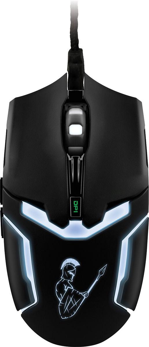 Qumo Dragon War Pike мышь игровая20789Игровая мышь Qumo Dragon War Pike обладает эргономичными формами. Она имеет 6 элементов управления, оптическую систему высокого разрешения 800/1200/1600/2400 dpi и разноцветную дышащую подсветку. Боковые клавиши позволяют быстро перемещаться по страницам в браузере (назад и вперед).