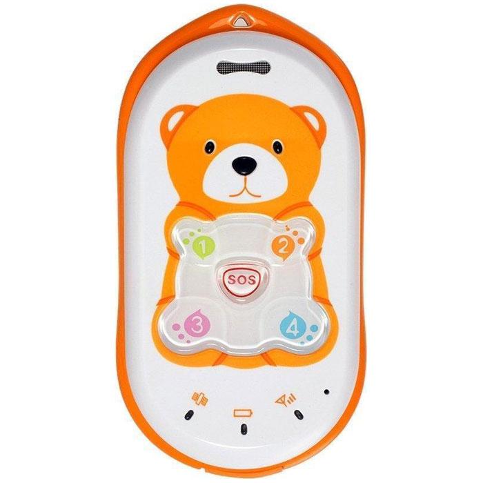 BB-Mobile Baby Bear, OrangeBaby Bear (ora)BB-Mobile Baby Bear - это мобильный телефон и GPS-трекер, который всегда поможет родителям узнать, где находится ребенок. Детский телефон рассчитан на использование детьми от трех лет. Простое управление, низкий уровень излучения и дополнительные функции позволят всегда поддерживать связь с малышом и, не отвлекая его от занятий, узнавать текущее местоположение. Дополнительные функции безопасности включают в себя возможность прослушивания окружения ребенка (аудио-мониторинг), запрет входящих и исходящих вызовов на незнакомые номера и защиту от случайного выключения телефона. Отправив SMS-запрос на номер маленького абонента, вы всегда сможете узнать, где он находится. Информация о местоположении доступна в двух вариантах: в виде ссылки на карту с выделением места, где находится ребенок либо в виде GPS-координат, которые можно посмотреть на карте. Благодаря наличию GPS-приемника, вы получите более точный ответ, ведь Baby Bear осуществляет сбор информации с помощью двух...