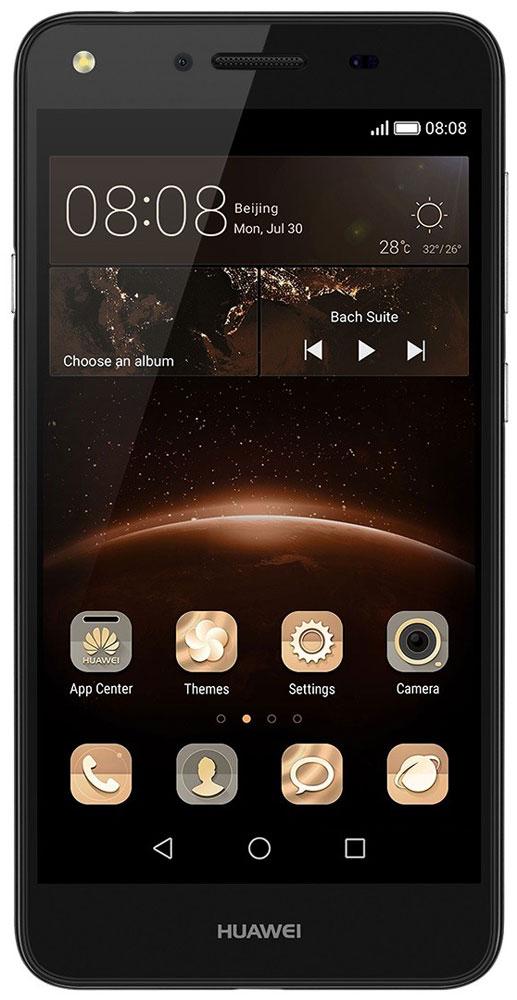 Huawei Y5 II (CUN-U29), Black51050LRKHuawei Y5 II - стильный и недорогой смартфон с широкими возможностями. Устройство приятно держать в руке. Черытехъядерный процессор MediaTek MT6582 с частотой 1.3 ГГц и оперативная память 1 ГБ позволяют использовать все современные мобильные приложения. Операционная система Android с фирменным пользовательским интерфейсом EMUI от Huawei предоставляет пользователю новый графический интерфейс, современный дизайн иконок и простоту управления. Коммуникационные возможности представлены Bluetooth 4.0, Wi-Fi 802.11 b/g/n при помощи которых можно воспользоваться беспроводной гарнитурой или подключиться к интернету. Также Huawei Y5 II не даст вам заблудится в городе и всегда укажет дорогу благодаря функции GPS. Модель оборудована стандартными разъемами - 3.5 мм для подключения наушников и microUSB - для зарядки и присоединения к USB-порту компьютера. Huawei Y5 II также обладает функциональным мультимедиа-плеером, способным воспроизводить аудио и...