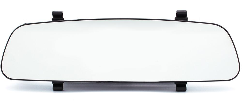 TrendVision MR-700GP, Black видеорегистраторMR-700GPАвтомобильный видеорегистратор TrendVision MR-700GP выполнен в виде накладки на штатное зеркало заднего вида. Такая конструкция все больше пользуется популярностью у автовладельцев. Её особенность - незаметность установки. В данной модели используется мощный процессор, чувствительный сенсор и светосильный объектив. Максимальное разрешение записи 1920 х 1080 (30 кадров в секунду). Широкий динамический диапазон HDR позволяет получить очень качественное видеоизображение даже в условиях высококонтрастных сцен или при недостаточной освещенности. Съемный поляризационный фильтр устраняет блики от лобового стекла. Полностью новый корпус разработан специалистами TrendVision и не имеет аналогов. Особенности: толщина всего 14 мм, увеличенная жесткость, противоослепляющее зеркальное покрытие, удобное крепление, большой монитор 4.3, два слота для карт памяти, подключение дополнительной аналоговой камеры заднего хода, удобные кнопки с автоматически отключаемой подсветкой. При...