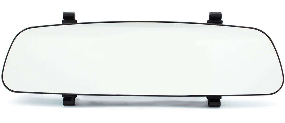 TrendVision MR-700P, Black видеорегистраторMR-700PАвтомобильный видеорегистратор TrendVision MR-700P выполнен в виде накладки на штатное зеркало заднего вида. Такая конструкция все больше пользуется популярностью у автовладельцев. Её особенность - незаметность установки. В данной модели используется мощный процессор, чувствительный сенсор и светосильный объектив. Максимальное разрешение записи 1920 х 1080 (30 кадров в секунду). Широкий динамический диапазон HDR позволяет получить очень качественное видеоизображение даже в условиях высококонтрастных сцен или при недостаточной освещенности. Съемный поляризационный фильтр устраняет блики от лобового стекла. Полностью новый корпус разработан специалистами TrendVision и не имеет аналогов. Особенности: толщина всего 14 мм, увеличенная жесткость, противоослепляющее зеркальное покрытие, удобное крепление, большой монитор 4.3, два слота для карт памяти, подключение дополнительной аналоговой камеры заднего хода, удобные кнопки с автоматически отключаемой...
