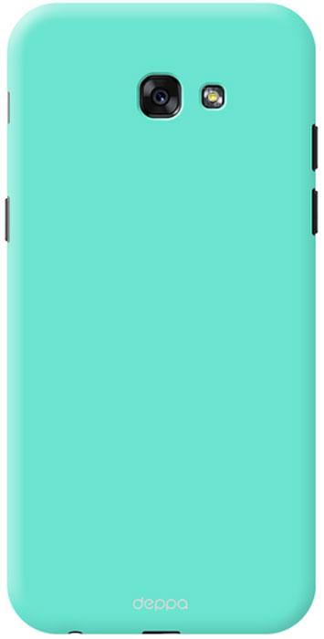 Deppa Air Case чехол для Samsung Galaxy A7 (2017), Mint83291Чехол Deppa Air Case для Samsung Galaxy A7 (2017) - случай редкого сочетания яркости и чувства меры. Это стильная и элегантная деталь вашего образа, которая всегда обращает на себя внимание среди множества вещей. Благодаря покрытию soft touch чехол невероятно приятен на ощупь, поэтому смартфон не хочется выпускать из рук. Ультратонкий чехол (толщиной 1 мм) повторяет контуры самого девайса, при этом готов принимать на себя удары - последствия непрерывного ритма городской жизни.
