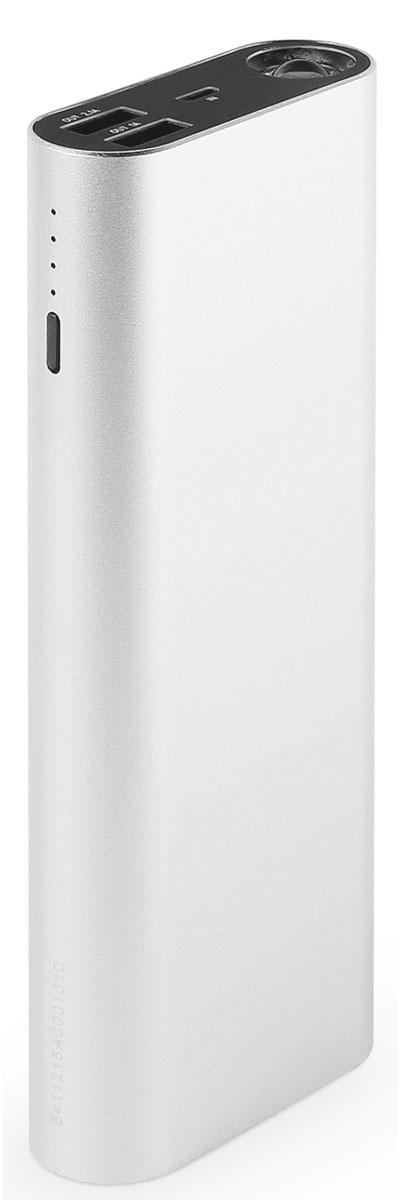 Rombica Neo ZX130 внешний аккумуляторZX-00130Внешний аккумулятор Rombica Neo ZX130 заряжает большинство мобильных устройств: смартфоны, планшеты, плееры, цифровые камеры и многое другое. Легкий и компактный источник энергии у вас в кармане! Оборудован батареей большой емкости, что позволяет в условиях отдаленности от электрических сетей, продлить использование мобильных устройств. Множественная система защиты для безопасной зарядки устройств. Оснащен мощным LED-фонарем c режимом стробоскопа.