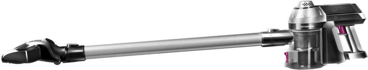 Redmond RV-UR340 пылесосRV-UR340Пылесос Redmond RV-UR340 — новая революционная модель в фантастическом дизайне, дарящая абсолютную свободу передвижения и одновременно с этим идеальную чистоту дома, мебели и даже салона автомобиля. Забудьте про громоздкость и вечно мешающийся провод. Встречайте мощную и мобильную модель, позволяющую навести безупречный порядок в любом помещении, в том числе, на лестнице. Настало время пылесосить с максимальным комфортом! Забудьте про надоедливый электрошнур – просто зарядите бытовой прибор с помощью компактного аккумулятора и перемещайте пылесос без ограничений! Пылесос UR340 оснащён надёжным креплением для удобного хранения. Установите его на стене и важная бытовая техника для дома будет всегда под рукой. Время непрерывного функционирования устройства составляет более 25 минут, а время полной зарядки шесть часов. Практичная турбощётка с электроприводом способна навести порядок в самых труднодоступных местах. В комплект аппарата дополнительно...