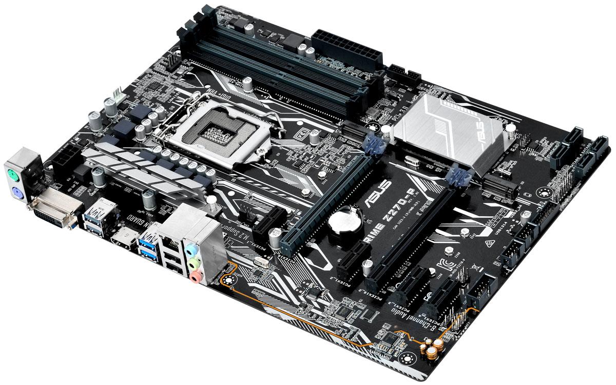 Asus Prime Z270-P материнская плата90MB0SY0-M0EAY0Asus Prime Z270-P - новейшая ATX-плата для платформы Intel LGA 1151 со светодиодной подсветкой, поддержкой DDR4 3866 МГц и накопителей Intel Optane, двумя разъемами M.2, портами HDMI, SATA 6 Гбит/с и USB 3.0. Asus Prime – это следующая эволюция материнских плат ASUS, славная история которых началась еще в далеком 1989 году. Наша команда инженеров мирового класса постоянно работает над тем, чтобы донести преимущества действительно персонифицированнй и гибкой настройки компьютерной системы каждому пользователю. Движущей силой создания материнских плат серии Prime стало наше искреннее желание сделать легко доступными расширенные возможности по управлению системой для достижения еще лучшей производительности, стабильности и совместимости. Пришло время Prime. Asus является мировым лидером в производстве материнских плат, известным своими творческими подходами к решению инженерных задач. Системные платы Asus создаются на базе высококачественных...