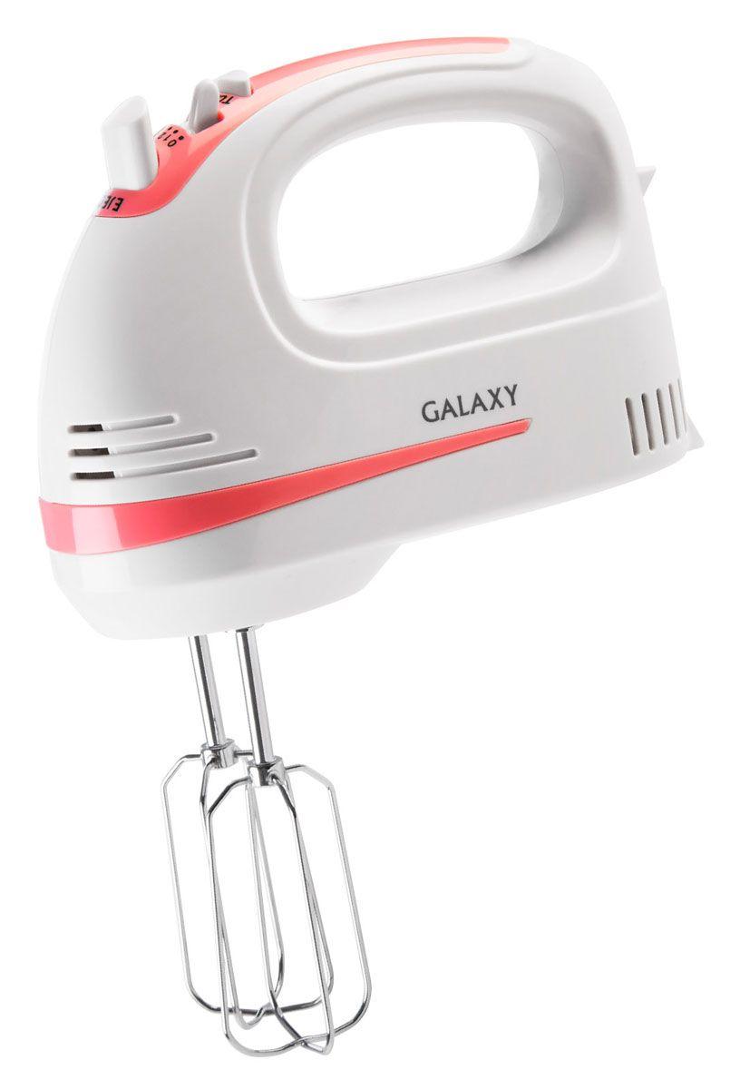 Galaxy GL 2211 миксер4650067302591Ручной миксер Galaxy GL 2211 с мощностью 250 Вт, 5 скоростями вращения и режимом Турбо. Имеет две пары практичных насадок для тщательного взбивания и для замешивания теста, которые гарантируют идеальный результат работы. Насадки изготовлены из высококачественной нержавеющей стали. Для большего удобства данная модель снабжена кнопкой легкого отсоединения насадок, что позволит менять насадки, не пачкая руки. Миксер удобен в использовании как правой, так и левой рукой.
