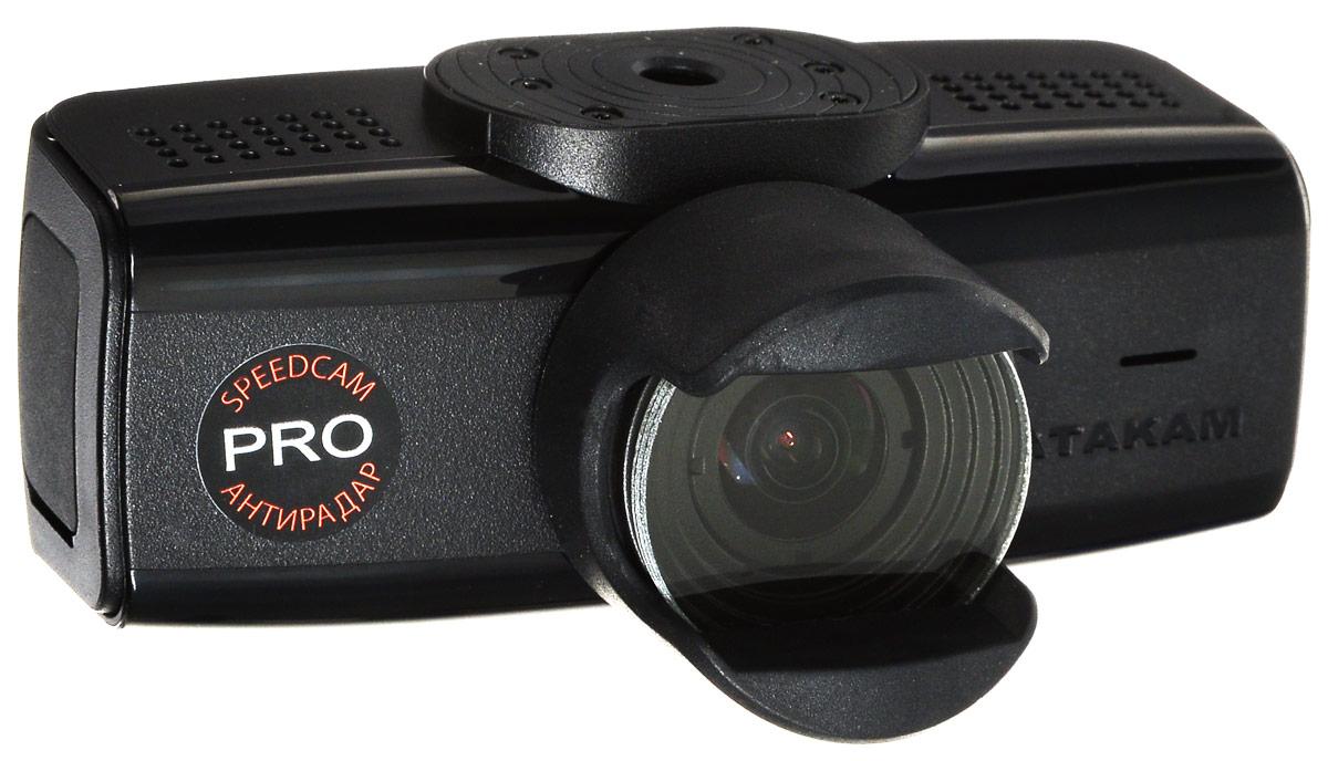Datakam 6 Pro, Black видеорегистратор6 PROВидеорегистратор Datakam 6 Pro отличается удобной конструкцией и надежностью. Данная модель оснащена широкоугольным объективом (с углом обзора 150 градусов), динамиком и микрофоном, что гарантирует запись полной картины в любой дорожной ситуации. Регистратор Datakam 6 Pro записывает видео в формате 2560x1080 и оборудован датчиком удара, GPS, ГЛОНАСС. Поддержка карт памяти формата microSD объемом до 64 ГБ обеспечивает бесперебойную съемку и дальнейшее хранение файлов. Видеорегистратор питается от автомобильного прикуривателя или встроенного резервного аккумулятора.
