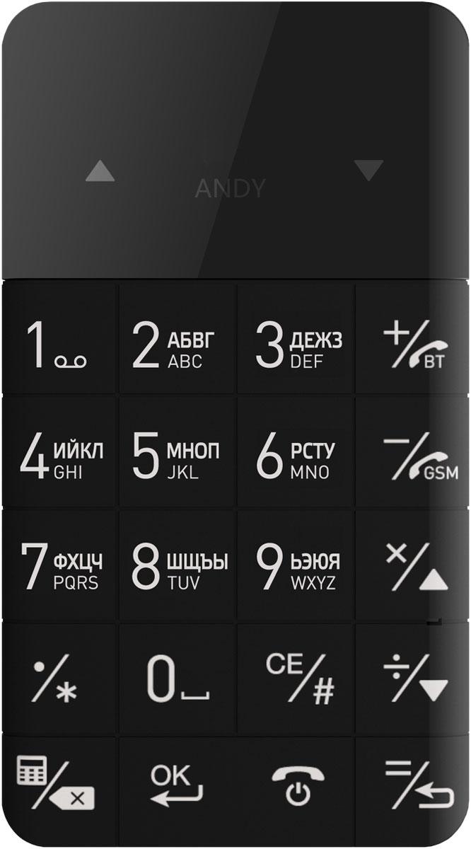 Elari CardPhone, BlackДЖ-00000534Ультратонкий мобильный телефон Elari CardPhone обладает поразительно компактными размерами, не больше пластиковой карты, так что его можно поместить даже в кошелек. Данная модель - идеальное дополнение к основному смартфону для любителей активного отдыха или запасной телефон для непредвиденных ситуаций, если, например, сел аккумулятор у основного смартфона или смартфон вышел из строя. Такое устройство отлично подойдет тем, кому необходим второй телефон, в том числе для установки служебной SIM-карты. Elari CardPhone способен проработать 3 часа в режиме разговора и 3 дня в режиме ожидания. Также имеется возможность подключения беспроводной гарнитуры по Bluetooth. Телефон сертифицирован EAC и имеет русифицированный интерфейс меню и Руководство пользователя на русском языке.