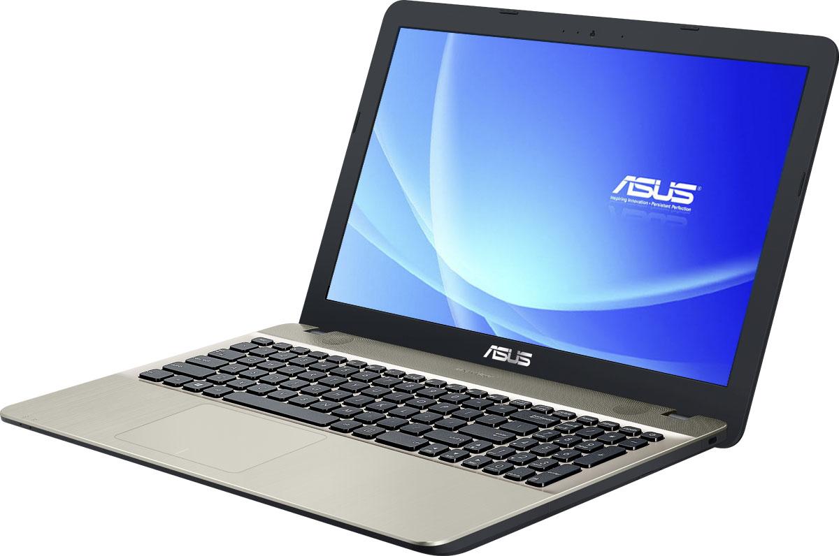 ASUS VivoBook Max X541SA, Chocolate Black (X541SA-XX327D)90NB0CH1-M04950Asus Vivobook Max X541SA - это современный ноутбук для ежедневного использования как дома, так и в офисе. В его аппаратную конфигурацию входит современный процессор Intel и 2 гигабайта оперативной памяти, которые обеспечат высокую скорость работы любых приложений. Для быстрого обмена данными с периферийными устройствами Vivobook Max X541SA предлагает высокоскоростной порт USB 3.1 (5 Гбит/с), выполненный в виде обратимого разъема Type-C. Его дополняют традиционные разъемы USB 2.0 и USB 3.0. В число доступных интерфейсов также входят HDMI и VGA, которые служат для подключения внешних мониторов или телевизоров, и разъем проводной сети RJ-45. Кроме того, у данной модели имеются кард-ридер формата SD/SDHC/SDXC. Благодаря эксклюзивной аудиотехнологии SonicMaster встроенная аудиосистема ноутбука Vivobook Max X541SA может похвастать мощным басом, широким динамическим диапазоном и точным позиционированием звуков в пространстве. Кроме того, ее звучание...