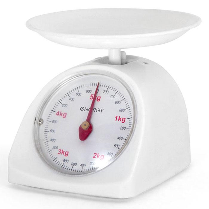 Energy EN-405МК, White кухонные весы54 011614Energy EN-405МК - механические кухонные весы с надежным механизмом. Данная модель имеет чашу округлой формы для максимально удобного процесса взвешивания. Это простой и быстрый способ проверить вес продуктов и других товаров.