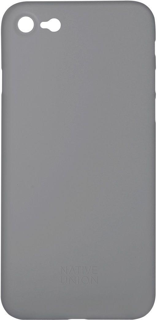 Native Union Clic Air чехол для iPhone 7, GreyCLIC-SMO-AIR-7Ультра-тонкий и легкий Native Union Clic Air идеально подстраивается под iPhone 7, практически не увеличивая его в размерах. Air имеет толщину 0.3 мм. Имеется свободный доступ ко всем разъемам и кнопкам устройства.