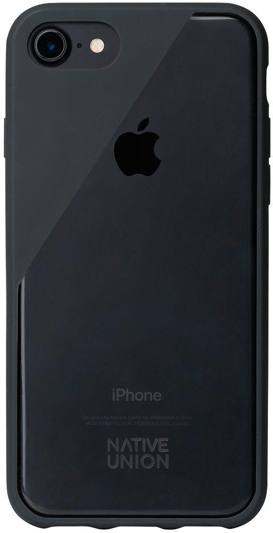 Native Union Clic Crystal чехол для iPhone 7, GreyCLICCRL-SMO-7Чехол Native Union Clic Crystal идеально подстраивается под iPhone 7, практически не увеличивая его в размерах. Выполнен из ударопоглощающих полимеров, защищающих от падений. Выступающая рамка по бокам экрана обеспечит его целостность. Имеется свободный доступ ко всем разъемам и кнопкам устройства. В этом чехле ваш телефон - индивидуальность, также как и вы сами. Чехол Native Union Clic Crystal сохраняет оригинальный стиль iPhone. Основным элементом задней панели выступает прочный и прозрачный поликарбонат, оставляющий лидерство дизайна за металлическим корпусом iPhone. Тем не менее, стиль Native Union всё равно легко узнается благодаря отличительному, резкому скосу эластичного бампера.
